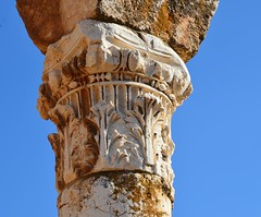 Anjar, Umayyad city, al-Walid I, 705-15, along the decumanus maximus (21) (Prof. Mortel) Tags: lebanon umayyad anjar
