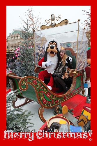 With Santa Goofy