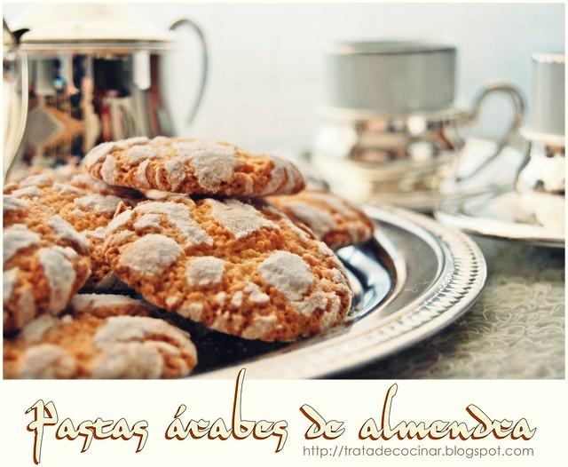 Pastas árabes de almendra TC