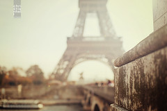 Paris Eiffel Tower (ifeatme) Tags: street city urban paris france tower vintage 50mm nikon soft dof bokeh pastel 14 eiffeltower cream eiffel 50mm14 retro depthoffield toureiffel nikkor tones depth nikkor50mm bokehlicious d700 nikond700