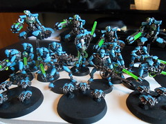 Necrons (Camper_Bob) Tags: miniature painted 40k warhammer necrons