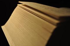 portrait of a book3 (Mottenmann) Tags: light book shining