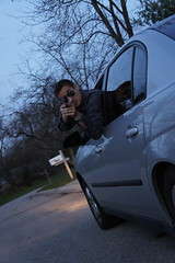 DSC01277 (choohc) Tags: car matt gun action awesome vince scene brent chase sequence