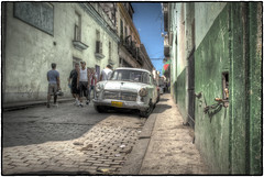 Side Street, Old Havana, Cuba (Bill Murray EarthPhotos) Tags: havana cuba communist revolution tropical socialist