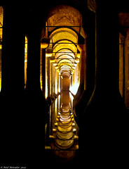 Vanishing point 2 Istanbul (Basilica cistern) (Neil. Moralee) Tags: point iceland istanbul images vanishing point march group vanishing recording 2012 neilmoralee