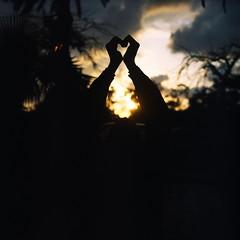 0185 (AzmirRahman) Tags: sunset alexandria rolleiflex zeiss mediumformat lens reflex kodak egypt twin carl 100 silhoutte bfe 2012 planar 80mm profoto 28f montaza exp2006 azmirrahman