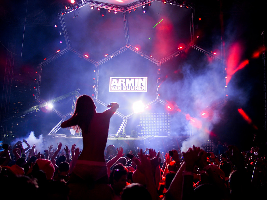 Ultra Music Festival Boobs