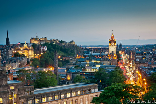 Edinburgh Skyline by OnlyEverOneJack