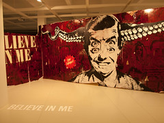 Believe in me. (leiro_pics) Tags: art collage stencil plantilla acoruña srx believeinme lanormal