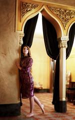 Ready for the show (Laura Wick) Tags: portrait alex model purple theatre sparkle fox gathering inside stoddard