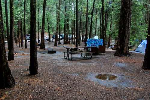 The Campsite Is Soaked.  Time To Go Home.