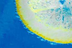 Lemon Slice [Explored] (skippys1229) Tags: macro water canon rebel lemon bubbles 100mm fl ocala 2011 explored t1i