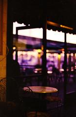 Evening Café (Nicholas LaCroix Photography) Tags: film coffee canon harbor cafe fuji ae1 superia fujifilm danapoint ae xtra importers