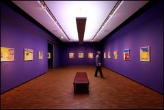 Purple room (Calmpjes) Tags: art wall museum bench purple bank cannon groningen 1022mm muur 60d