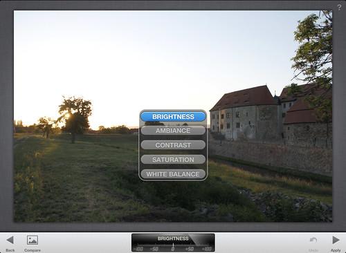Snapseed - iPad-App zur Bildbearbeitung
