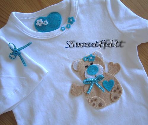 ♥♥♥  Adoro esta ursinha... by sweetfelt \ ideias em feltro