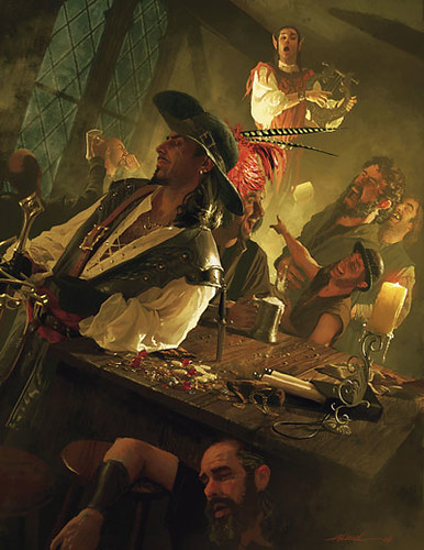Tavern patrons