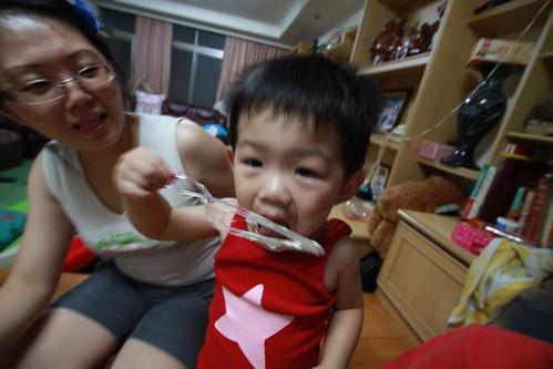 20110706_樂樂兩歲農曆生日