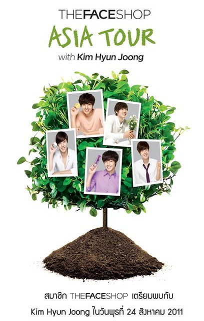 Kim Hyun Joong The Face Shop Promotion in Thailand