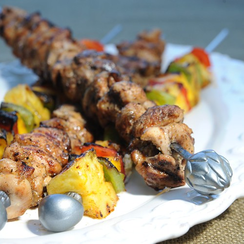 Carribean Kabobs Square
