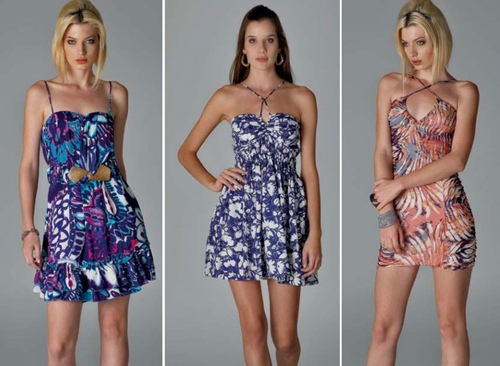 vestidos curtos para o verão