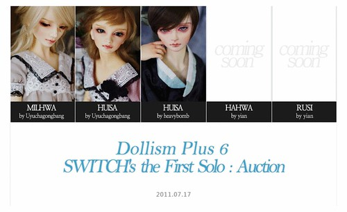 Switch Dollism Plus 6: the First Solo