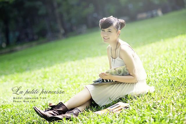 chụp hình chân dung ngoại cảnh - model Savannah Tran