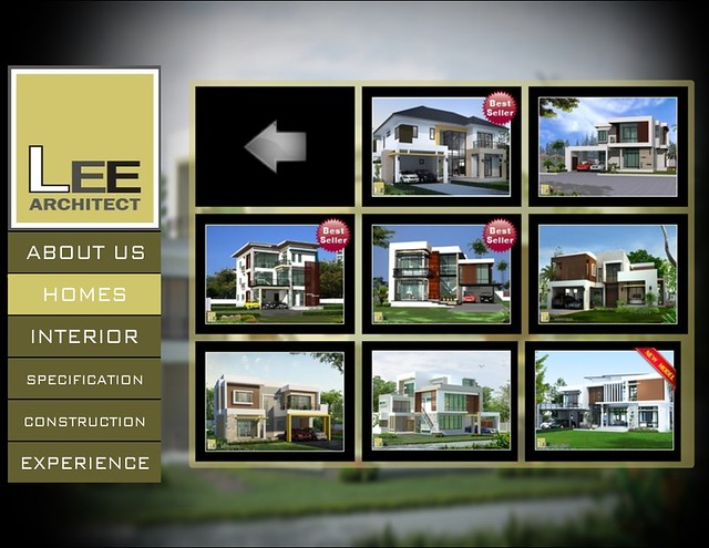 iSSimple iNFO - LEE Architect interactive product presentation