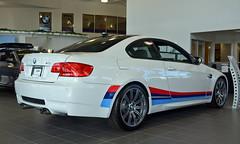 BMW Performance M3 (mschroeter140) Tags: white canada ex car sport sedan bavaria dc nikon edmonton performance fast sigma competition mini os racing german alberta showroom bmw m3 package coupe f28 hdr v8 exhaust motorsport individual s85 hsm e92 1750mm worldcars d7000 edmontonbmw