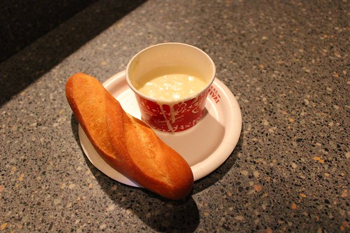 Cheese Fondue with Sourdough Bread