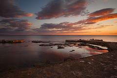 Novigrad Sunset I (seozzy) Tags: sunset sea sky seascape water clouds tramonto waterfront lungomare novigrad istria cittanova