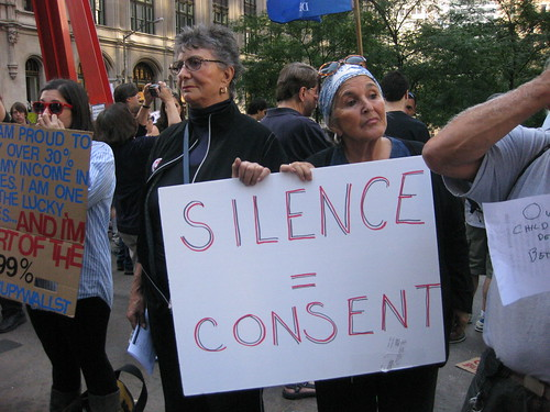 Occupy Wall Street: Silence is Consent