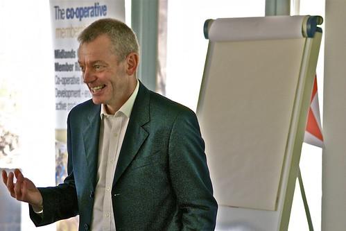 Nigel Mason, business development manager of Co-operative Energy