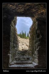 Tragaluz (miguelsepulveda) Tags: sevilla spain hdr romanempire imperioromano itlica