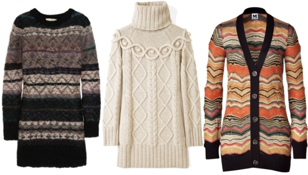 KnittedSweaterDresses