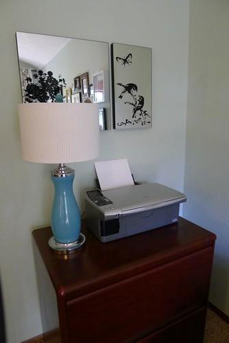 Printer Corner Before