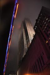 The Rock (Surrealplaces) Tags: new york city newyorkcity urban newyork skyline night centralpark rockefellercenter gotham brookylnbridge