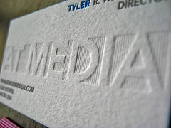 At Media Letterpress Cards