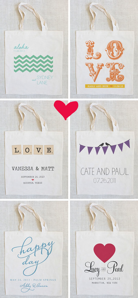 Totes from The Wedding Chicks