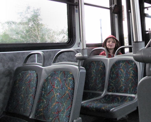 Ava on the Bus
