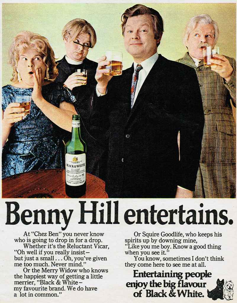 Vintage Ad #1,676: Benny Hill Entertains