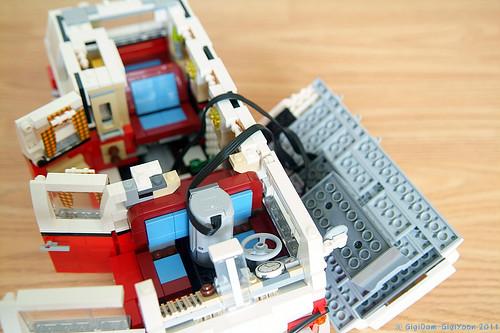 vw creator modelcars gbp red p white lego bulli ck volkswagen camper van en