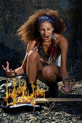 Angie like Jimi (Matteo Lorenzetti's photos ) Tags: music woman girl fashion rock fire glamour guitar flames musica tribute ml ritratto jimihendrix fuoco chitarra ragazza fiamme ortrait