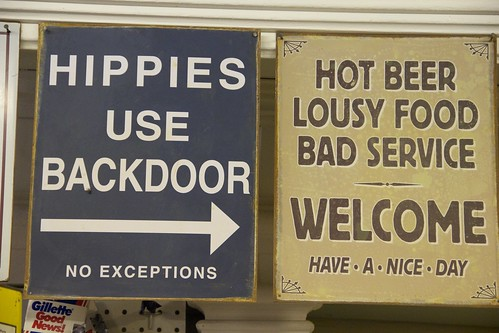 Hippies use backdoor