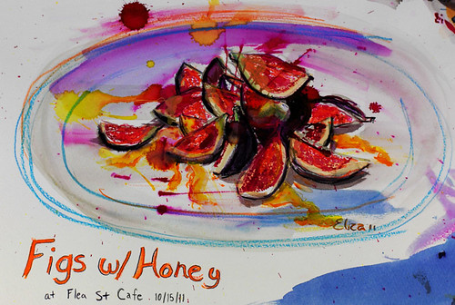figs & fresh honey