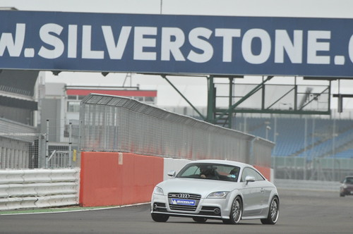 RMA Silverstone 13th October 2011: Michelin Tyre Test Audi TT