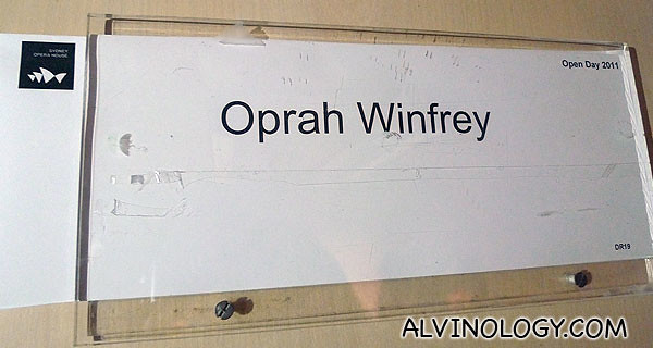 Oprah Winfrey's room