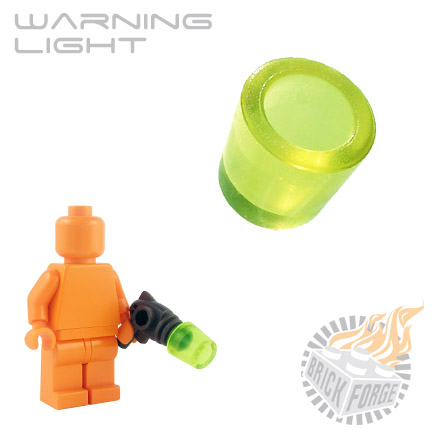Warning Light - Trans Neon Green