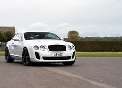 A Bentley, a white one. (tWm.) Tags: white car nikon day thomas continental super mein f18 50 supercar bentley goodwood supersports 2011 saywell d7000