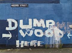 (Yermaaaaaaaaaaaaaaaaaaaaaaaaaaaaaaaaaaaaaaaaaaaaaa) Tags: madrid street wood ireland urban wall graffiti kat dump belfast here tagged northernireland madridstreet yermaaaaa